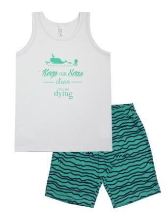 Пижама Море Микс