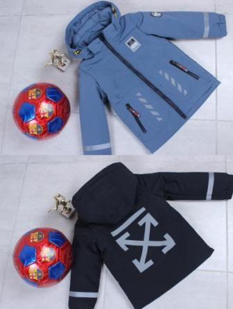 Куртка демисезонная Off-white Синий