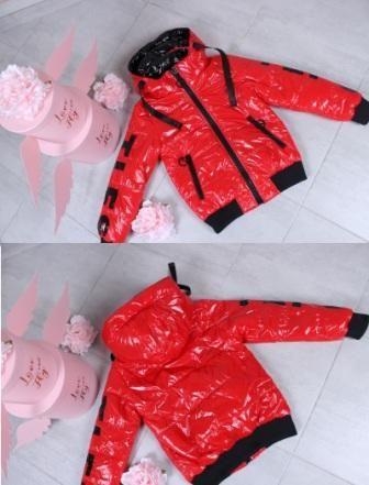 Куртка демисезонная Блеск. TLFS Красный
