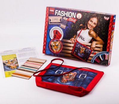 Сумка Fashion bag вышивка мулине