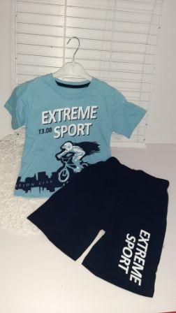 Костюм двойка Extreme sport Голубой