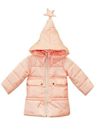 Куртка пальто Звезда Пудра