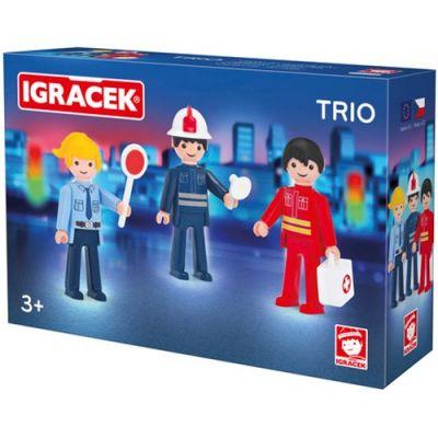 Спасатель, пожарный и полицейский Toys IGRACEK
