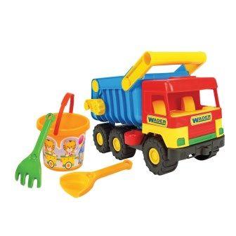Машина с набором для песка Middle truck