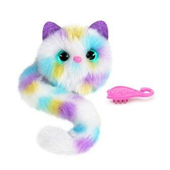 Игровой набор с интерактивной кошкой POMSIES S4 КОНФЕТТИ
