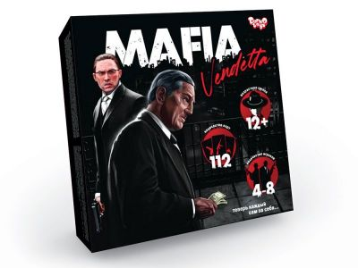 Настольная игра MAFIA Vendetta
