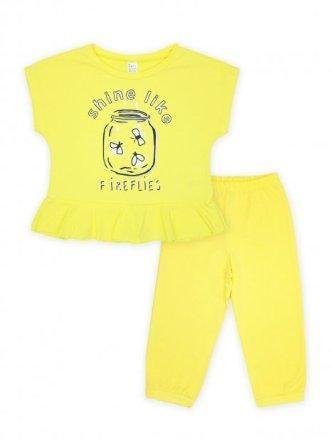 Пижама Летний вечер Желтый