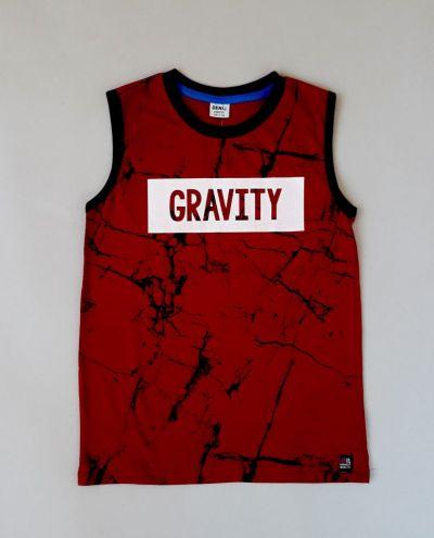 Майка Gravity Бордовый
