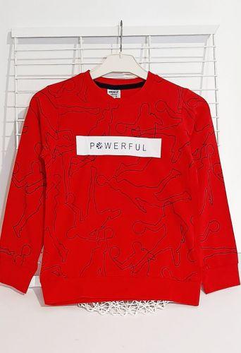 Джемпер Powerfu Красный