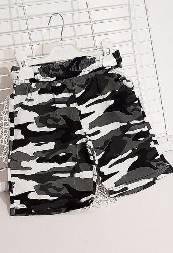 Шорты Милитари Серый