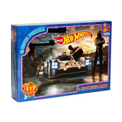 Пазлы Hot Wheels 117 эл