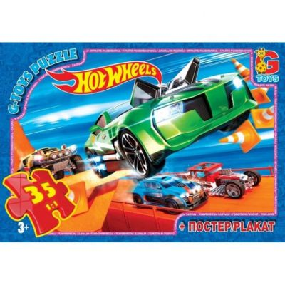 Пазлы Hot Wheels 35 эл