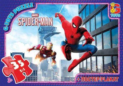 Пазлы Человек паук 35 эл