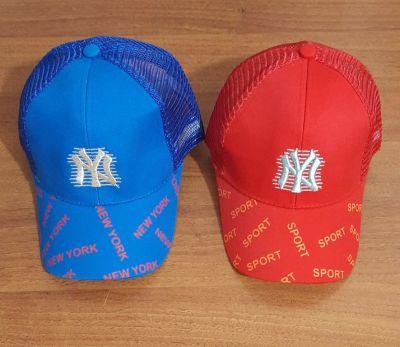 Бейсболка NEW YORK сетка р50 Микс