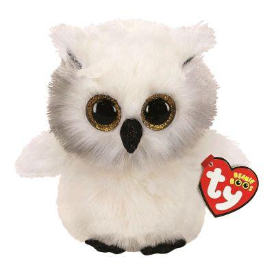 Мягкая игрушка TY Белая сова 25см