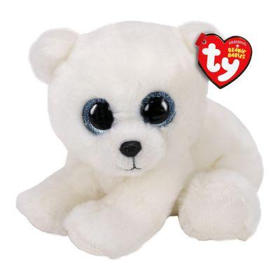 Мягкая игрушка TY Белый медведь 15см