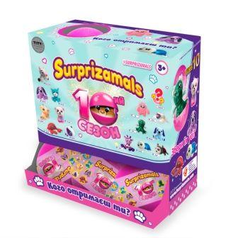 Мягкая игрушка сюрприз в шаре SURPRIZAMALS S10