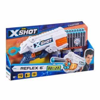 X Shot Скорострельный бластер EXCEL Reflex 6