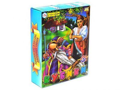 Кубики 12шт народные сказки