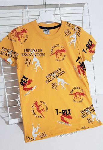 Футболка Dinosaur D16 Желтый