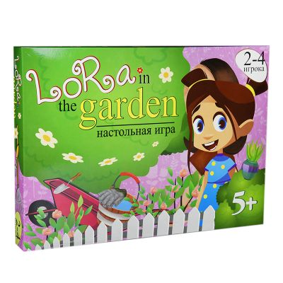 Игра Lora in the garden