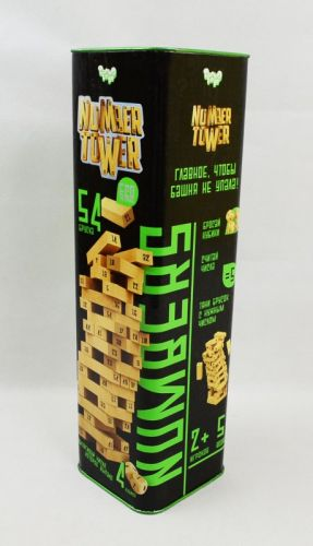 Настольная игрв NUMBER TOWER