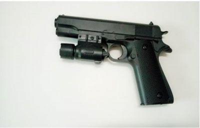 Пистолет лазер