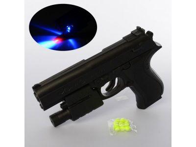 Пистолет на пульках 16см