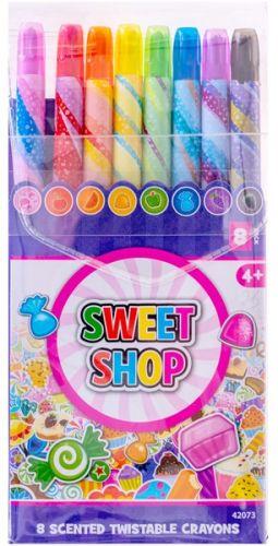 Набор восковых карандашей Sweet Shop