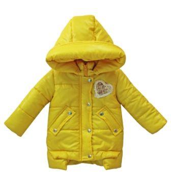 Куртка Сердце желтая Желтый
