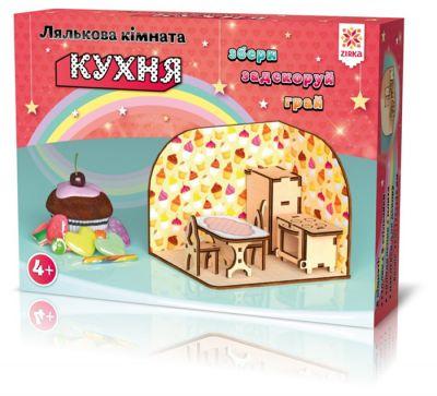 Деревянный 3Д конструктор Кухня