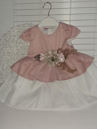 Платье нарядное Парка цветок Роза чайная