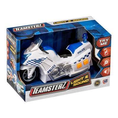 Полицейский мотоцикл 15 см