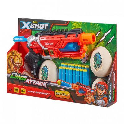 XShot Скорострельный бластер DINO Striker