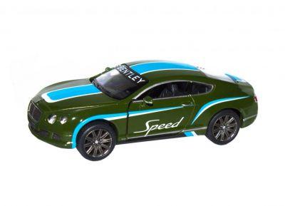 Модель Bentley металл инерционная
