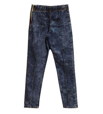 Лосины брюки SWT, 2 кнопки Черный