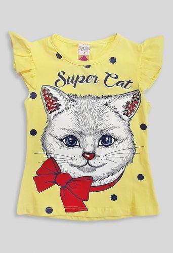 Футболка Super Cat Желтый