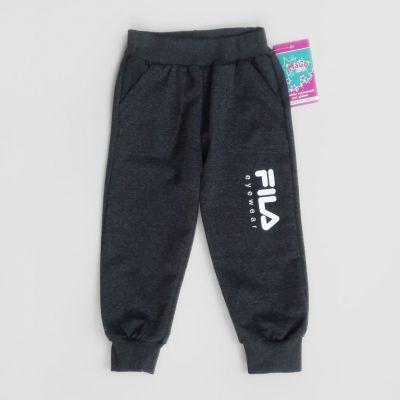 Спортивные брюки манжет 1 - 3 лет Серый темный