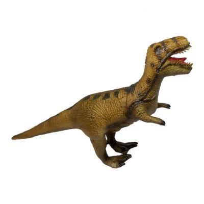 Динозавр Велоцираптор, зеленый, 32 cm