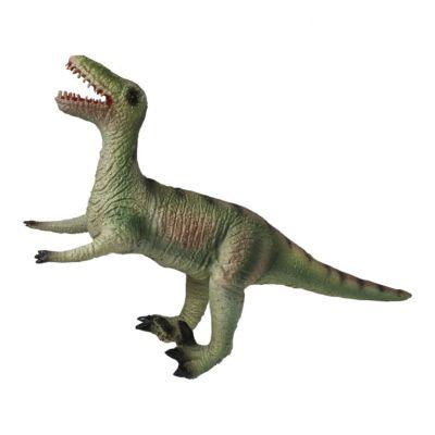 Динозавр Велоцираптор, серый, 32 cm