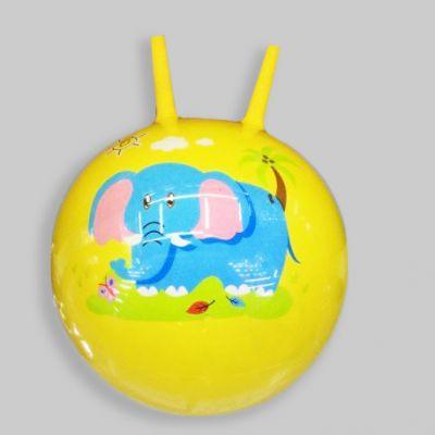 Мяч 55см роги