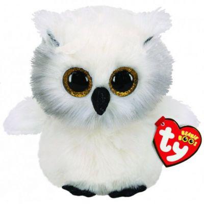Игрушка TY Beanie Boos 36305 Белая сова SNOWY OWL 15см