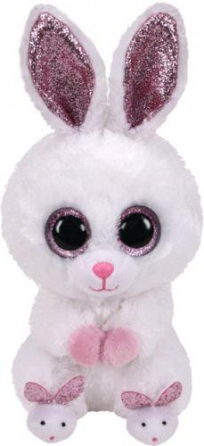 Игрушка TY Beanie Boos 36315 Белый кролик SLIPPERS 15см