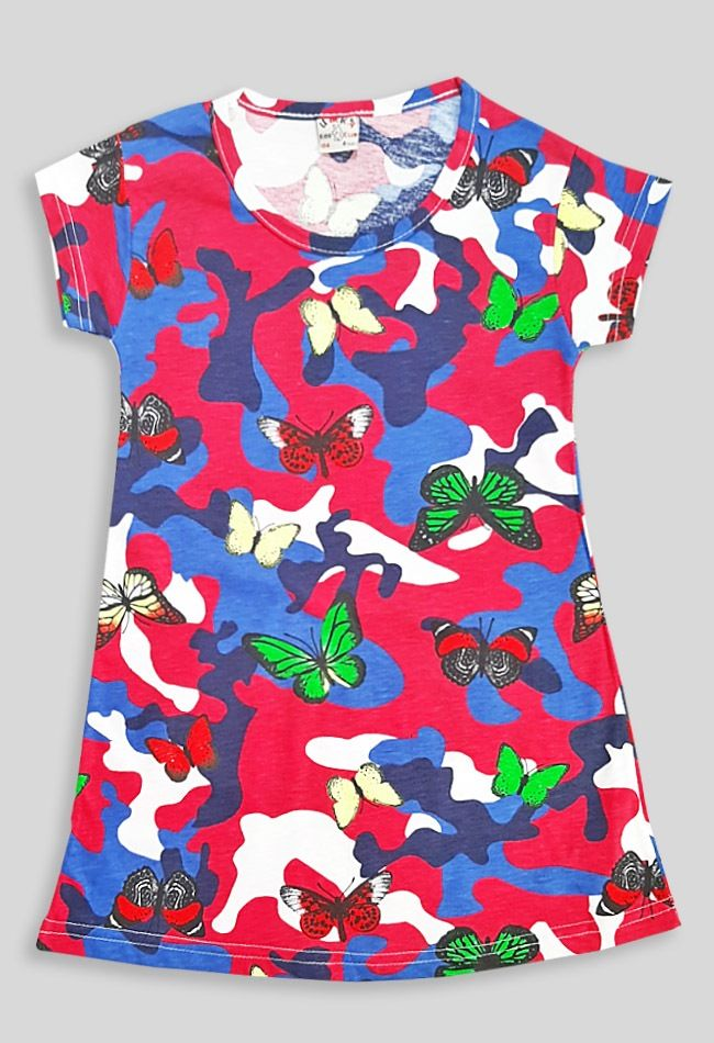 Платье Митилтари, бабочка Розовый