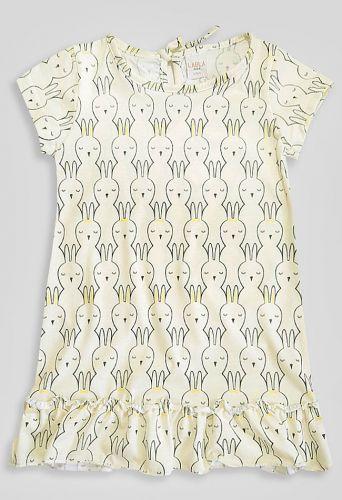 Платье Зайцы Желтый