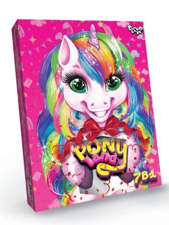Креативное творчество Pony Land 7 в 1
