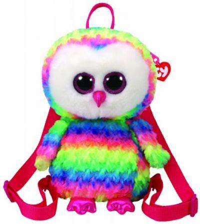 Рюкзак TY Разноцветная сова Owen