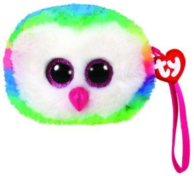 Кошелек TY Разноцветная сова Owen
