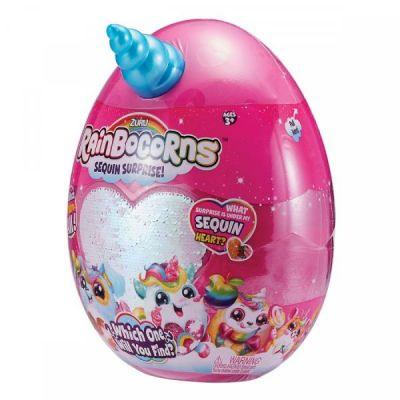 Мягкая игрушка сюрприз Rainbocorn-A с аксессуарами