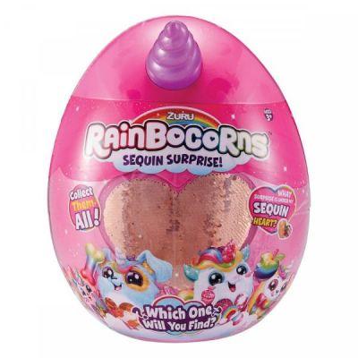 Мягкая игрушка сюрприз Rainbocorn-E с аксессуарами